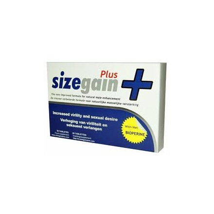 Size Gain Pills Plus - Peniksen pidennysvalmiste 30 tabl