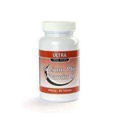 Calcium Plus & D vitamiini - 90 kpl